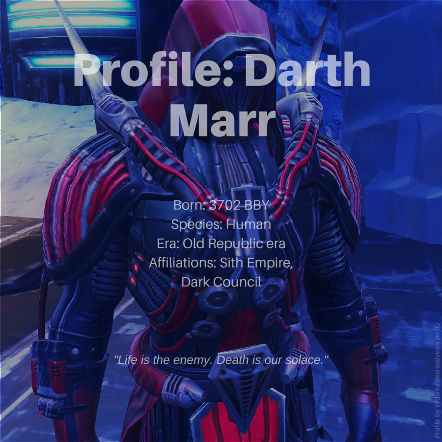 DARTH MARR STAR WARS PROFILE 05