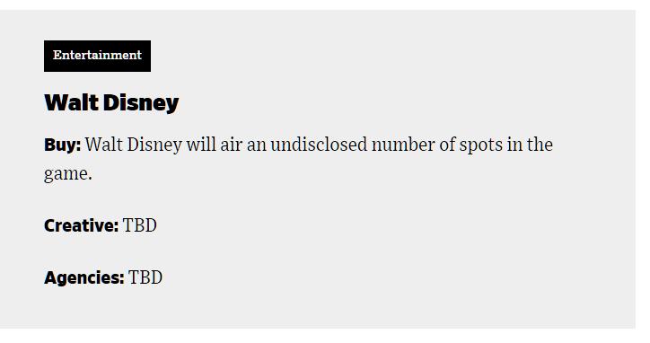 walt disney to air entertainment february 3rd 2019