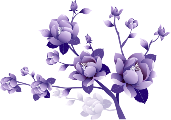 Painted_Transparent_Large_Purple_Flower_Clipsrt.png