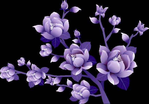 Painted_Transparent_Large_Purple_Flower_Clipsrt.png