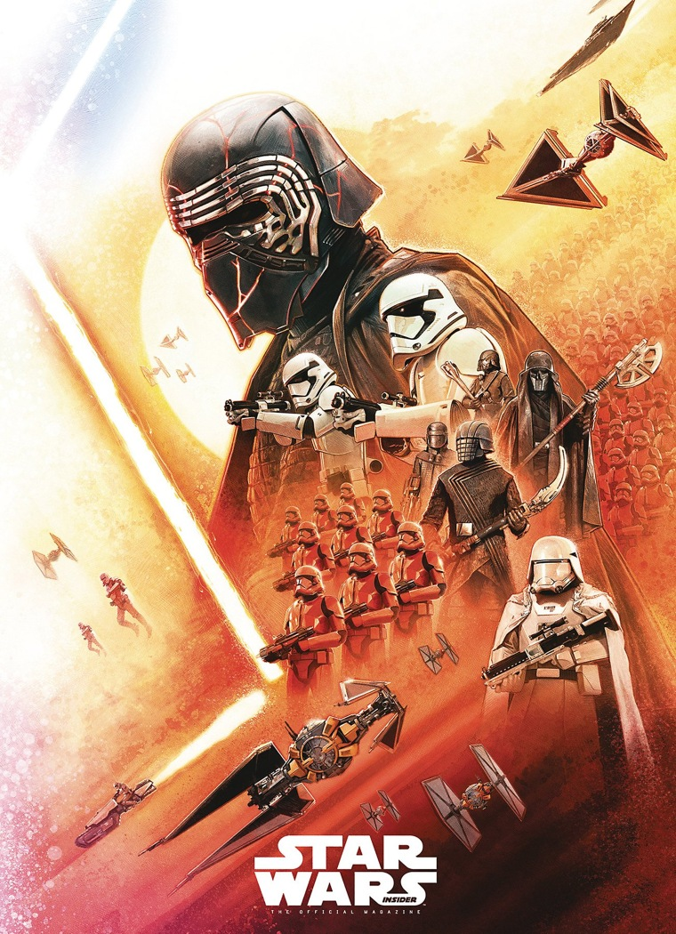 New! Star Wars Insider: The Rise Of Skywalker Cover Art