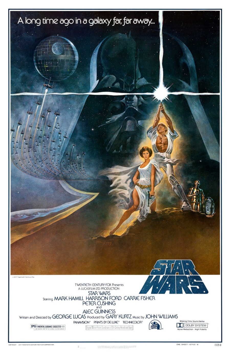 Star Wars 1977 Poster