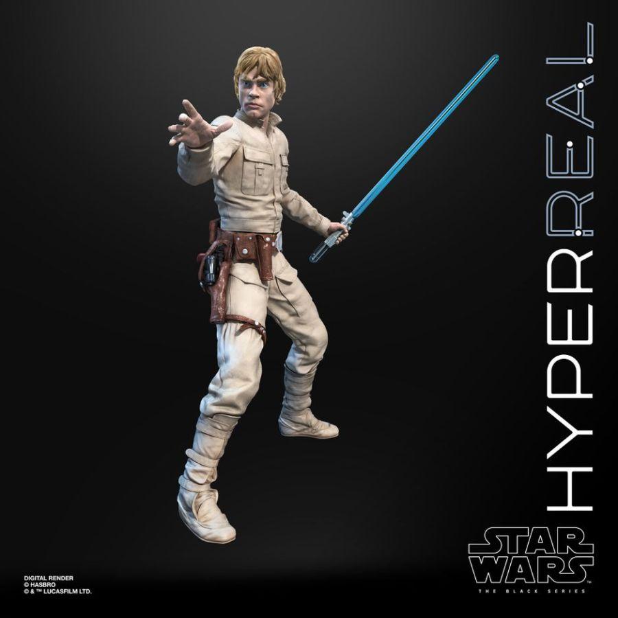 Luke Skywalker Hyperreal