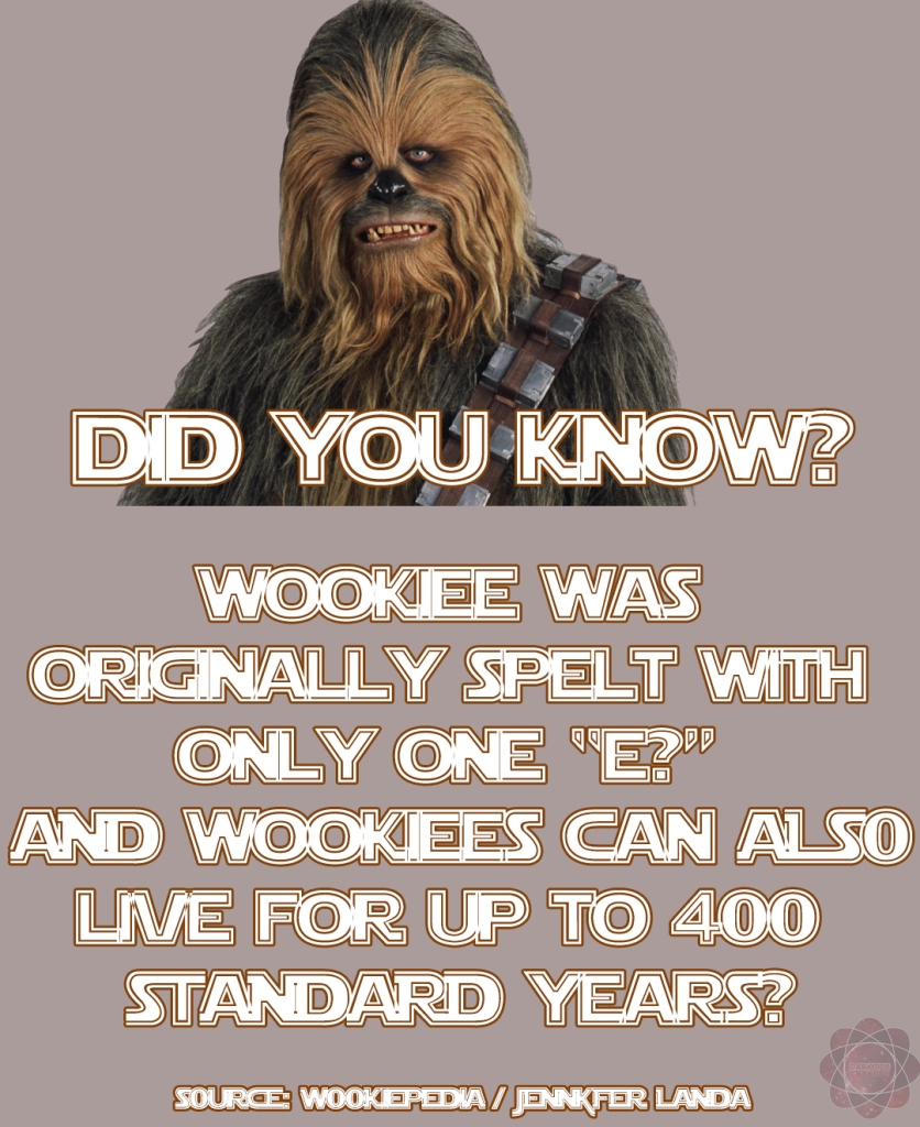 STAR WARS TRIVIA DID YOU KNOW 11
