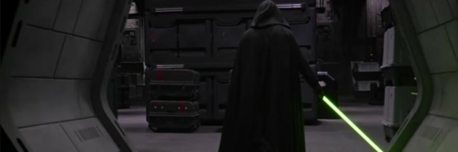Star Wars The Mandalorian Luke Skywalker Behind the Scenes Disney+